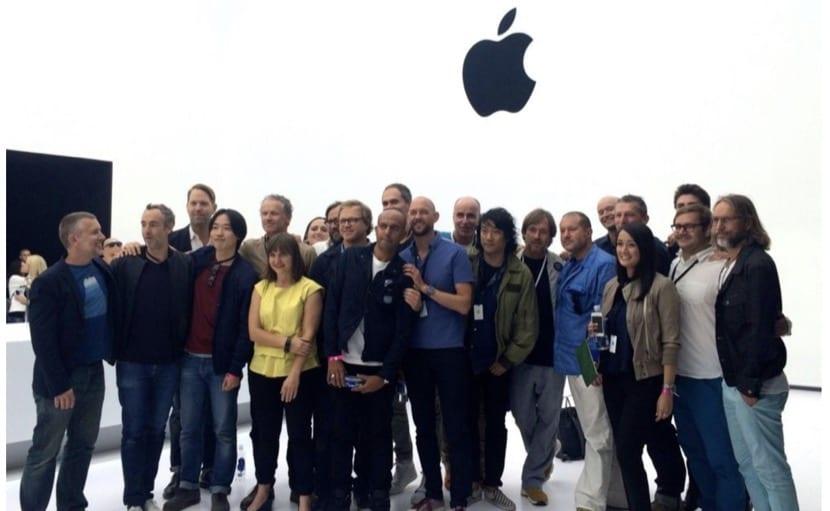 Equipo de diseño de Apple