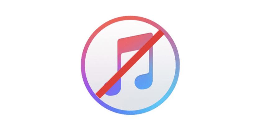iTunes no desaparece
