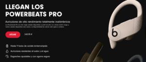 Powerbeats Pro disponibilidad