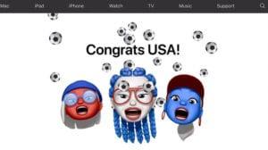 Apple celebra la victoria en la Copa Mundial Femenina de Fútbol por parte de Estados Unidos