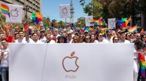 Apple celebra el orgullo LGBT