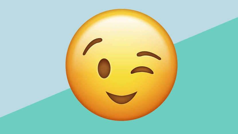Emoticono guiño