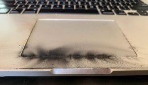 MacBook quemado