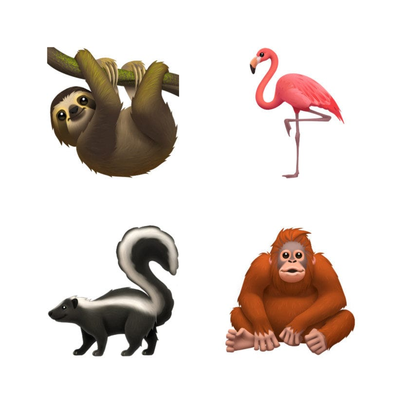 Nuevos emoticonos para iOS y Mac