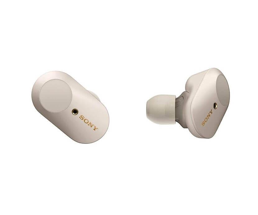 Auriculares Sony WF-1000XM3 - Versión plata