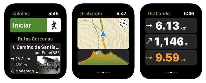 Wikiloc Apple Watch