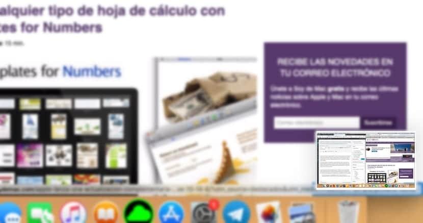 Desactivar miniatura capturas de pantalla en Mac