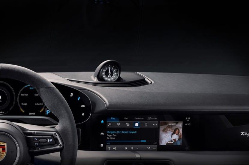 Si te compras el nuevo Porsche Taycan tendrás Apple Music de forma nativa
