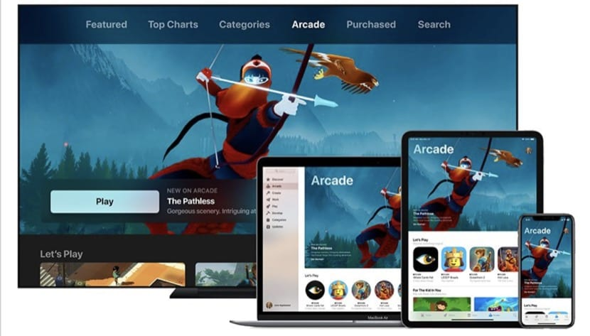 Apple Arcade multiplataforma
