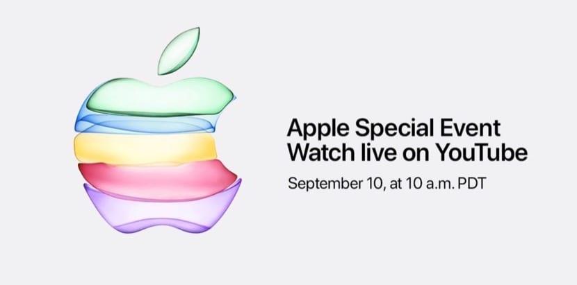 Presentación Keynote Apple Septiembre 2019