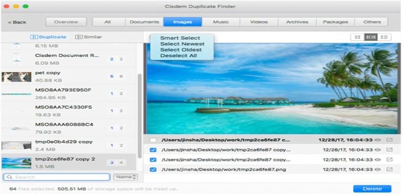 Cisdem Duplicate Finder Elimina de manera eficaz los archivos duplicados en tu Mac
