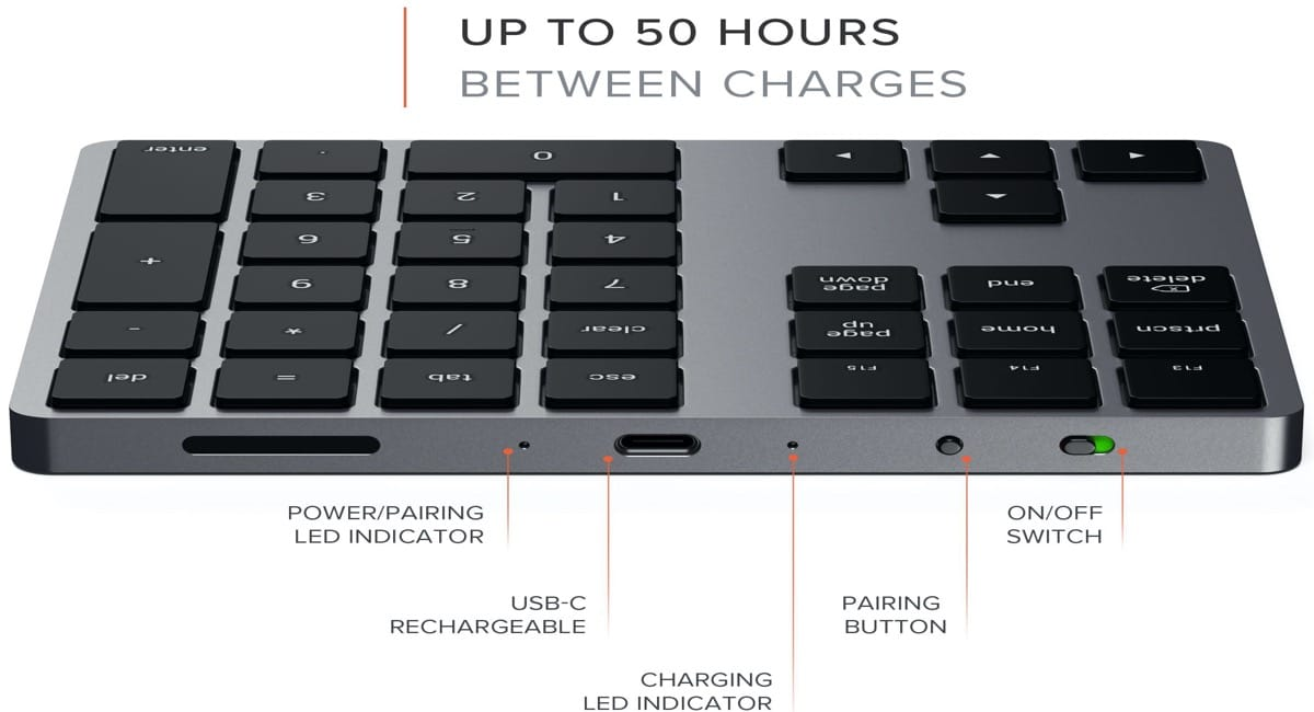 Satechi ha lanzado al mercado un teclado extendido para nuestros Mac