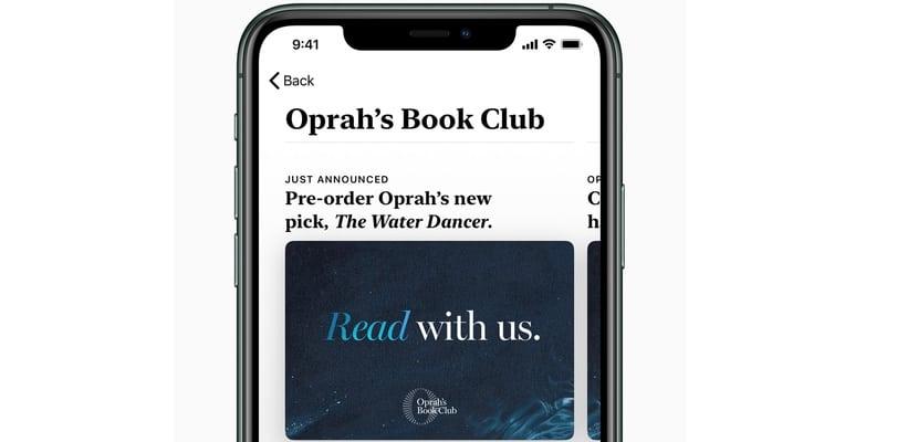 Oprah Winfrey se estrena con el club de lectura el próximo 1 de Noviembre en Apple TV+