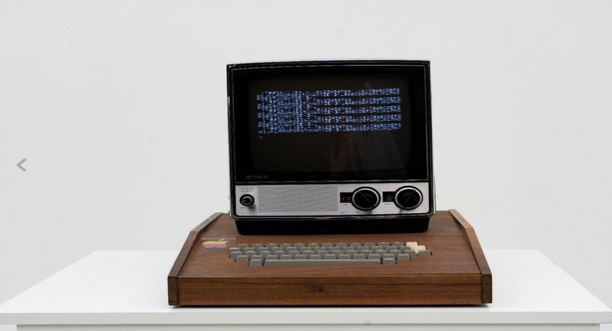 En eBay se subasta un Apple-1 a un precio desorbitante