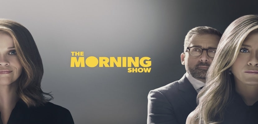 "Los actores de la serie de Apple TV+ ""The Morning Show"""