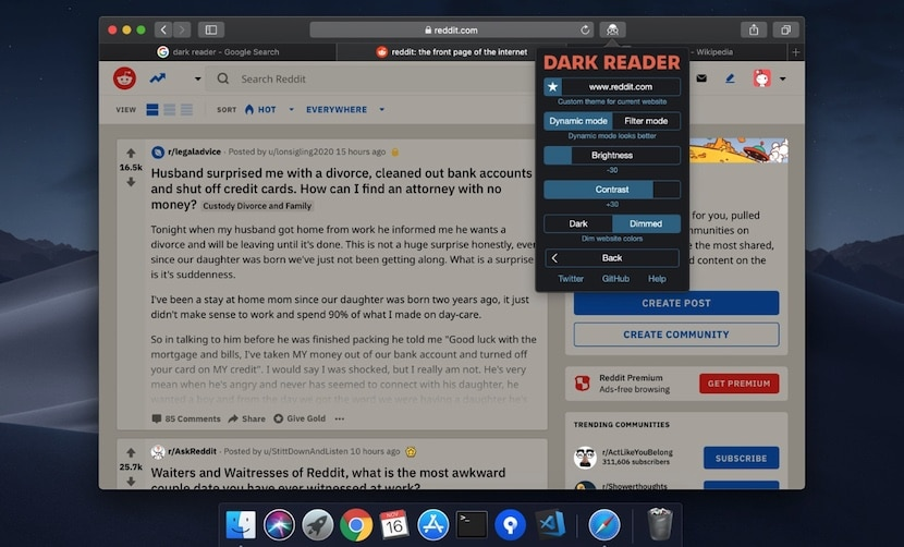 Dark Reader for Safari