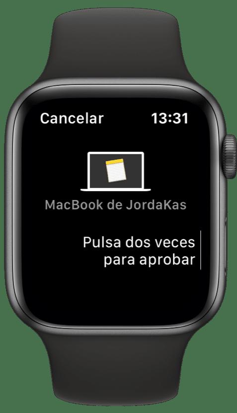 Apple Watch desbloquear