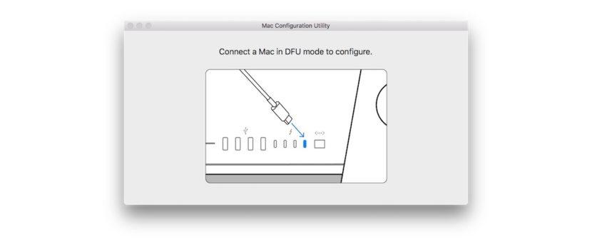 Utilidad de configuración recientes Mac