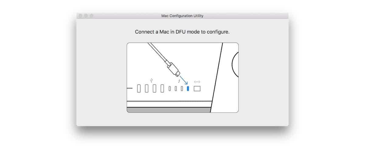 Utilidad de configuración nuevos Mac
