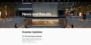 Resultados financieros Q4 Apple