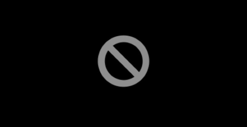 Símbolo prohibido