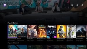 Twitch para Apple TV