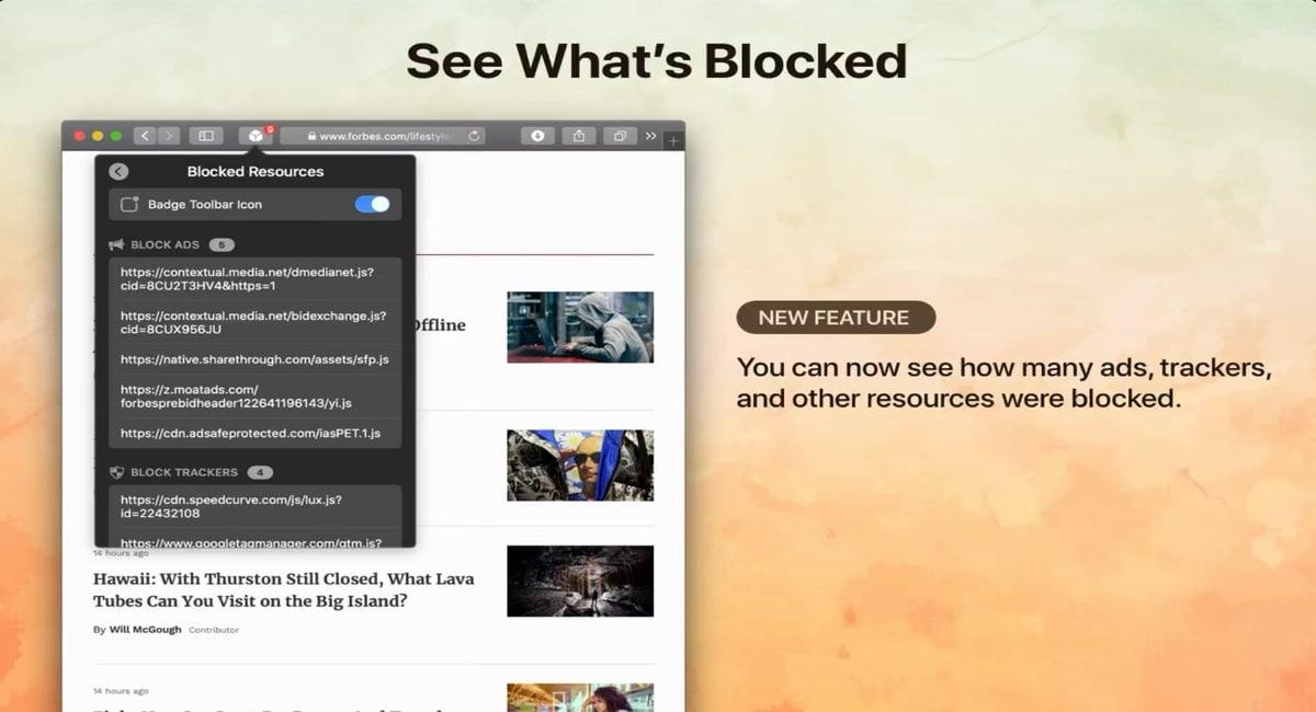 1Blocker para Mac bloquea a los intrusos en tu ordenador