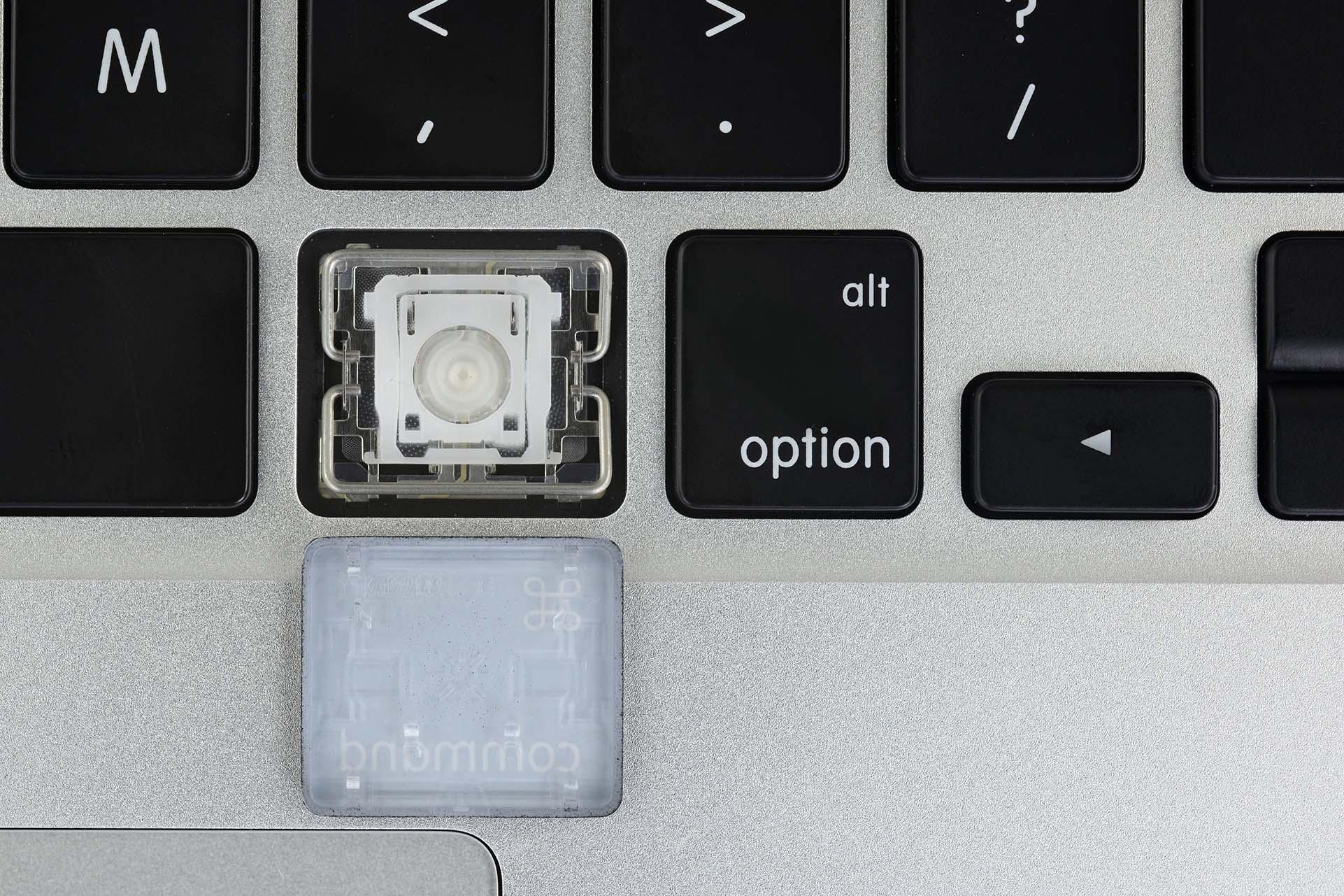 Análisis del teclado del nuevo MacBook Pro por parte de iFixit