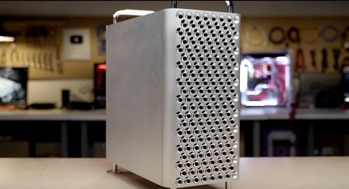El chasis de Dune, el Pro, es una copia casi exacta del Mac Pro