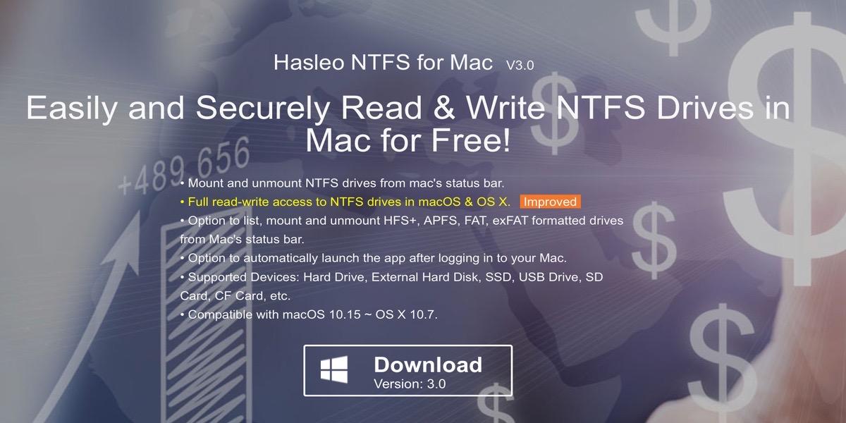 Este programa te permitirá leer y escribir en discos duros NTFS desde tu Mac, sin problemas