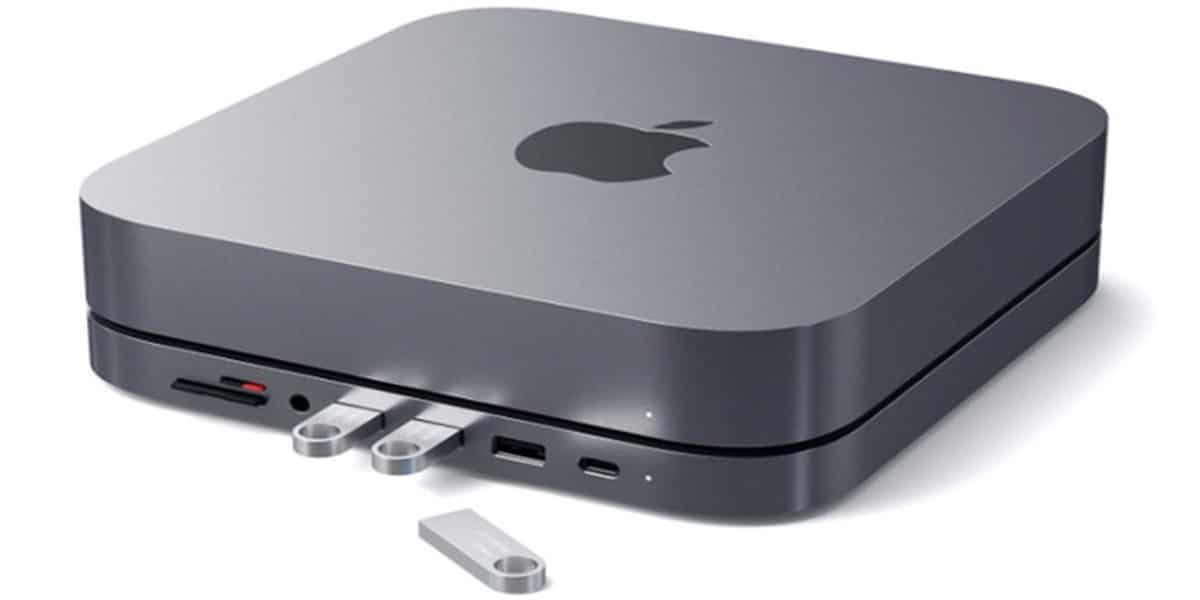 Satechi acaba del lanzar un concentrado USB-C para el Mac Mini de Apple