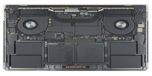Desmontaje del MacBook Pro por iFixit