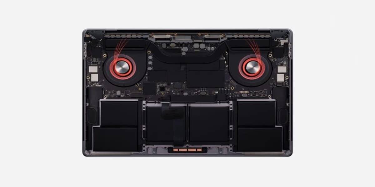 """El MacBook Pro de 16"""" disipa mejor el calor"""