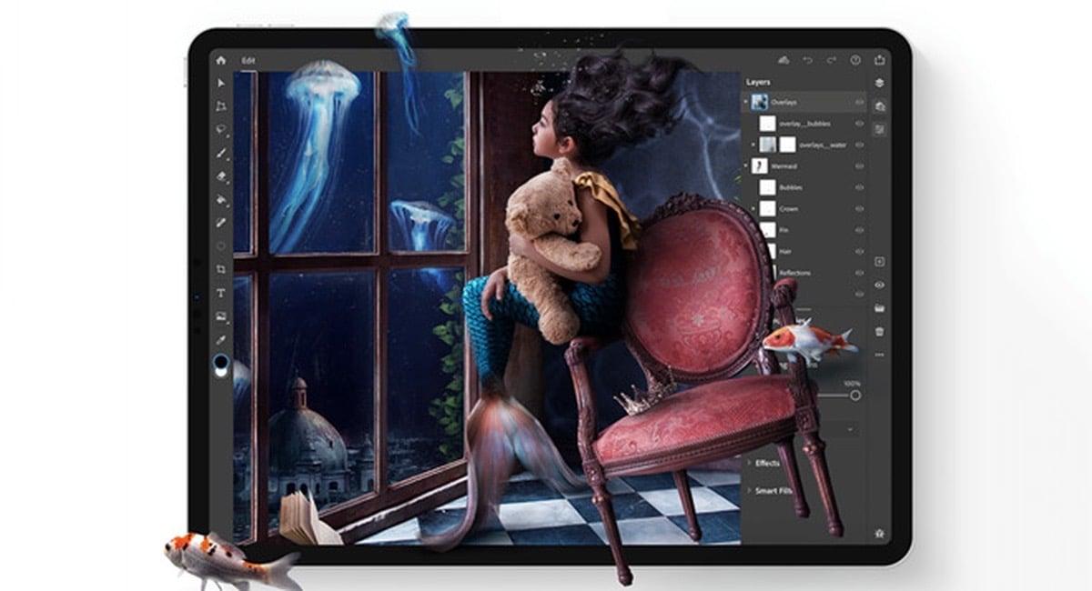 Photoshop para iPad ya está disponible para su descarga
