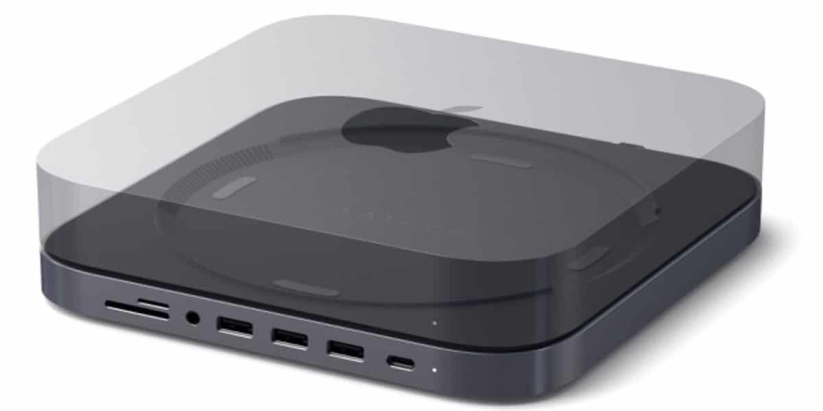 Soporte Hub USB-C para el Mac Mini