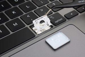 IFixit ha analizado el interior de las teclas del nuevo MacBook Pro