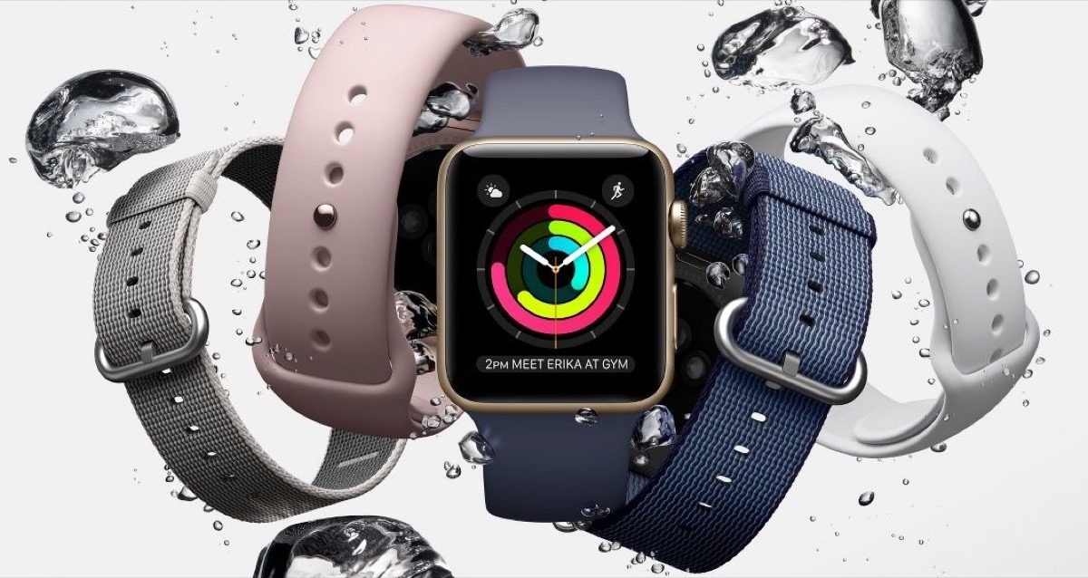 Apple Watch Agua