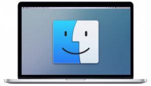 Finder en MacBook