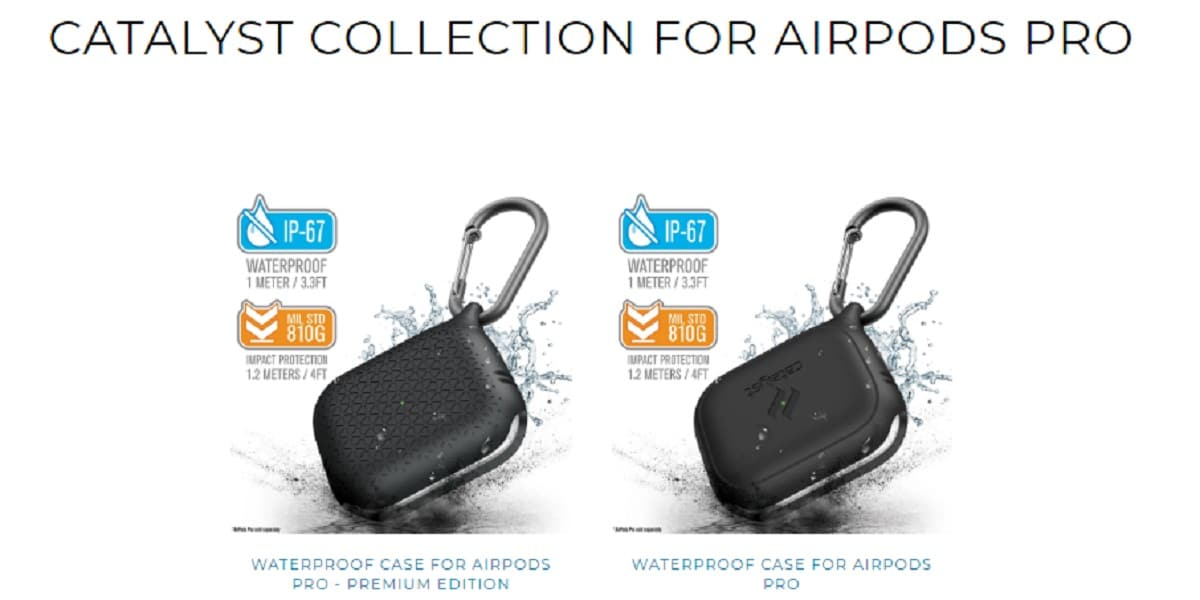 Catalyst funda para AirPods Pro