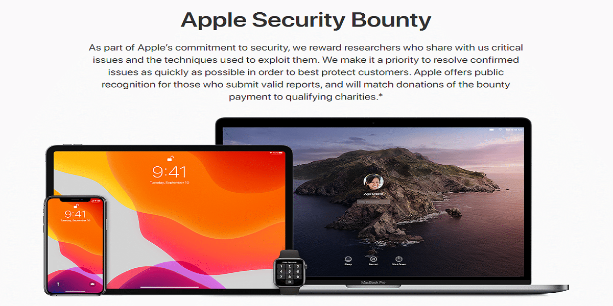 Programa de Apple para aquellos que encuentren vulnerabilidades en cualquier sistema operativo de Apple