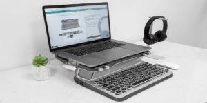 Teclado mecánico para el iPad, iMac y iPhone con bluetooth incorporado