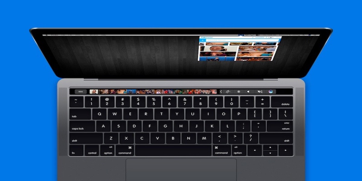 Touch Bar en el MacBook Pro personalizable