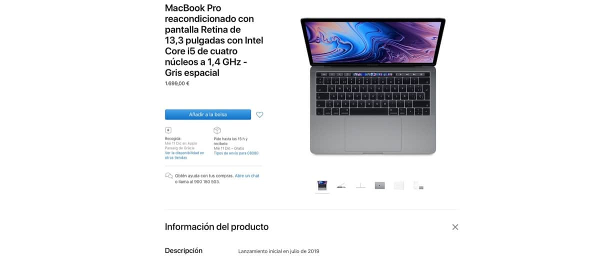MacBook Pro Restaurado
