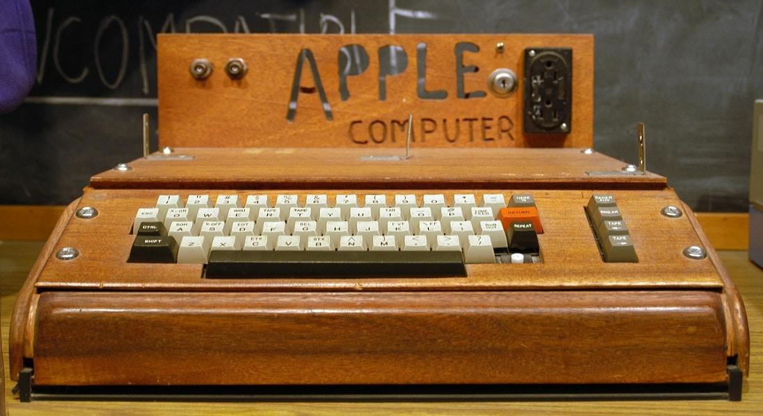 El Apple I que forma parte de esta colección