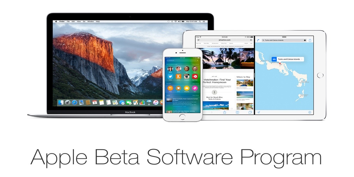 Nuevas betas disponibles para dispositivos de Apple