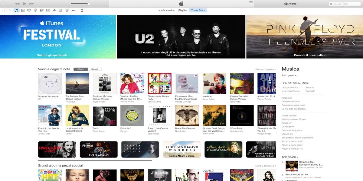 Saca a la luz de su escondite a iTunes Store en macOS Catalina