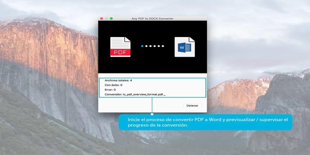 Convierte PDF a Word con esta aplicación para Mac