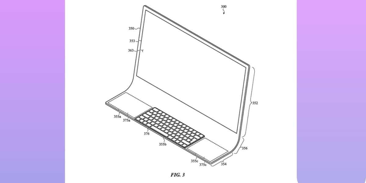 Una nueva patente podría traer un nuevo iMac hecho con un sólo vidrio