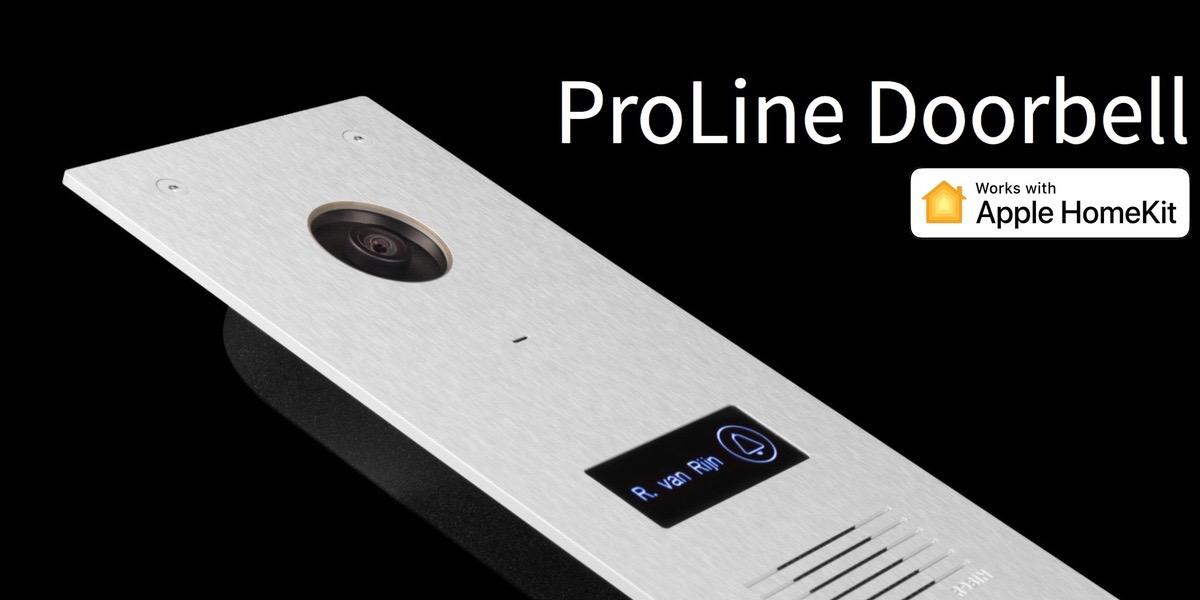 Un timbre que no sólo te avisa si no que graba a quien llama y transmite las imagenes de forma segura gracias a HomeKit