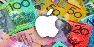 Apple acepta donaciones para Australia